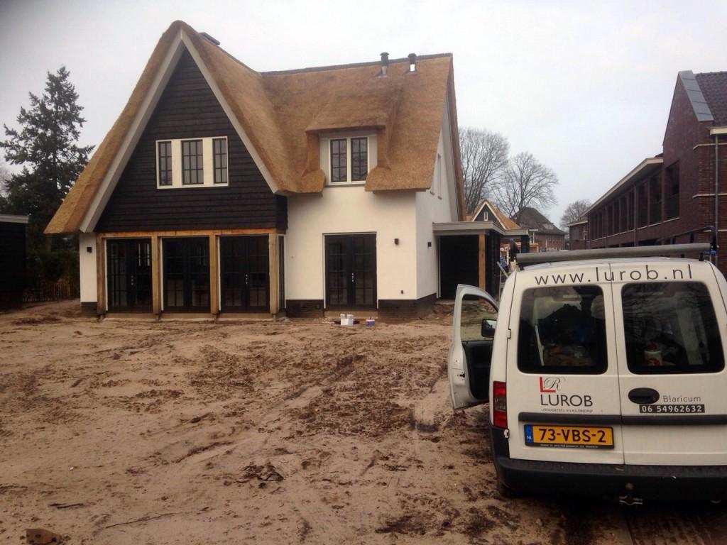 Werkzaamheden nieuwbouw Blaricum