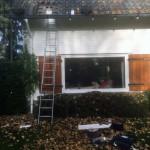 Balk vernieuwen onder dakbeschot
