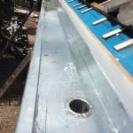 Plaatsing zinken dakgoot